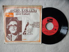 "45T 7"" MICHEL LEGRAND ""Love theme - lady sings the blues"" TAMLA MOTOWN FRANCE §"