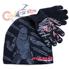 Star Wars Clone Gloves  Beanie Set  Fits Most with Magic Stretchable