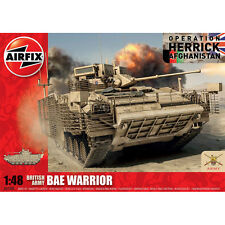 Airfix BAE Warrior Armoured Vehicle 1:48