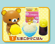 JAPAN Re-ment dollhouse miniature Rilakkuma ~ Relaxing Hot Meal #001
