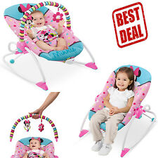 Infant To Toddler Rocker Chair Baby Seat Recliner Vibrating Sleeping Newborn New
