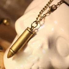 Personality Bullet Retro Girls Pendant Necklace Long Chain Sweater Chain 1 x