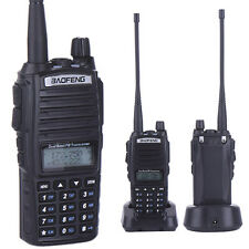 Baofeng UV-82 Dual Band Two-way Radio Walkie Talkie Ham VHF UHF FM Seat Charger