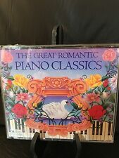 CDs Set of 3 Readers Digest The Great Romantic Piano Classics Chopin Liszt More