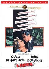 LIBEL (1959 Olivia DeHavilland, Dirk Bogarde) -  Region Free DVD - Sealed