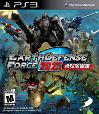Earth Defense Force 2025 (Trilingual Cover) New Playst