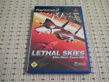 Lethal Skies Elite Pilot Team SW für Playstation 2 PS2 PS 2 *OVP*