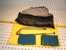 Mazda 1990 RX7 GTU in trunk tool kit OEM 1 set of 4 Pieces & Black foam 1 Pouch
