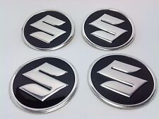 NEW 4pcs Decal Alu Stickers for Wheel Centre Cap Hubs for SUZUKI - 60mm