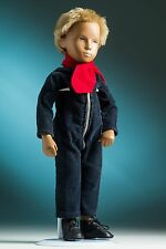 1979 Gregor Sasha boy doll in blue jumpsuit outfit 16-inch