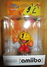 PAC-MAN AMIIBO Figure Wave 4 US VERSION PACMAN FIRST PRINT