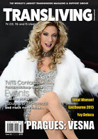 TRANSLIVING ISSUE 50 TRANSVESTITE CROSS DRESSER TRANSGENDER LIFESTYLE MAGAZINE