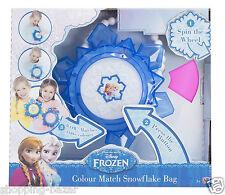 DISNEY congelato Principessa Snowflake colori cangianti Bag Ragazze Light Up Borsetta Giocattolo