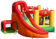 Duplay Happy Hop 11 in 1 14.5ft Inflatable Bouncy Castle with Airflow Fan Blower