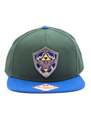 OFFICIAL NINTENDO'S THE LEGEND OF ZELDA HYLIAN SHIELD SNAPBACK CAP (BRAND NEW)