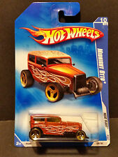 2009 Hot Wheels #126 Heat Fleet 10/10 - Midnight Otto - P2446