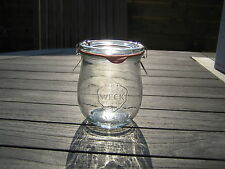 Weck Canning Jar from Germany Tulip Style 220ml