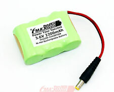 Emergency light backup battery Ni-MH Rechargeable Sub C 3.6V 2200mAh