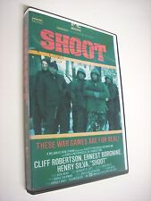 SHOOT; 1976; CLIFF ROBERTSON LEADS A GROUP OF HUNTERS WHO FORM A MILITIA; DVD