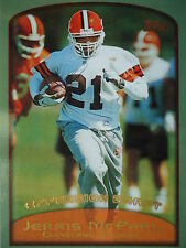 NFL 324 Jerris McPhail Clevland Browns Season Highlights Topps 1999
