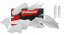 Polisport MX Complete Plastic kit  KTM SX-F 2016/17 - White - With fork Guards