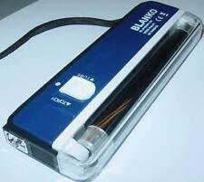 Schwarzlichtlampe mit Taschenlampe, Geldscheinprüfer mobil, UV-Lampe