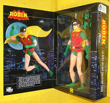 "DC DIRECT ROBIN Hot 13"" ACTION FIGURE DOLL BATMAN Bat Toys 1:6 scale 12"" Dx MIB"