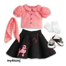 American Girl MaryEllen's POODLE SKIRT Outfit SET  Mary Ellen DOLL NOT INCLUDED