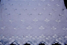 embroidery polycotton african lace textile in 11 colors, Blended Cotton voile