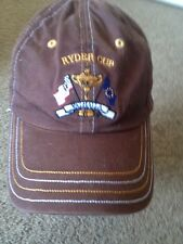 Pukka Head Wear Ryder Cup baseball Cap Hat Snap back Adjustable Brown GXN