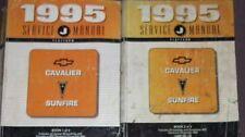 1995 GM Pontiac Sunfire & Chevy Cavalier Shop Repair Service Manual Set OEM