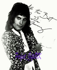 FREDDIE MERCURY QUEEN SIGNED AUTOGRAPHED 10X8 PHOTO RE-PRINT #A