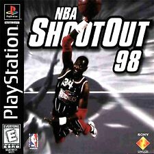 NBA ShootOut 98  shoot out basketball ps1 psx PlayStation 1998 Brand New Sealed