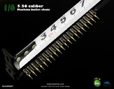 COOMODEL COO 1:6 Scale 5.56 caliber(20) metal machine bullet chain