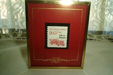 Texas Stamps Co Stamps & Stories Framed Fire Engine 9-28-88 San Angelo Tx Stamp