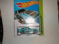 Hot Wheels 2015 Kmart Exclusive #193 Mazda RX7 in light blue