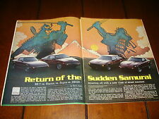 1983 MAZDA RX7 vs.1983 TOYOTA SUPRA vs.1983 NISSAN 280ZX vs. MITSUBISHI STARIONN