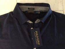 NWT POLO GOLF RALPH LAUREN LADIES SS NAVY BLUE SHIRT MEDIUM MSRP $89.50