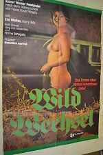 WILDWECHSEL - Filmplakat A1 - EVA MATTES - HARRY BÄR - AF695
