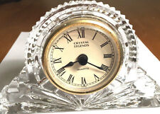 CRYSTAL LEGENDS CLOCK~ELEGANT TIME KEEPER by GODINGER