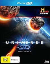 The Universe In 3D : Collection 2 (Blu-ray, 2014) - Region B