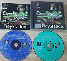 Sony Playstation 1 juego OVERBLOOD 2 PS1 PS 1