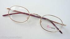 Metallgestell gold extrakleine Glasform stabil Herrenbrille Kinderbrille selten