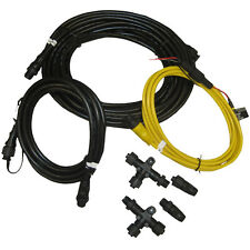 Garmin NMEA 2000 N2K Starter Kit 6ft Drop/6' Power/33ft Backbone Cable+Connector