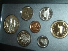1991 Canada Proof Double Dollar Set (KEY 7 Coins Cent to Silver Dollar Mint Set)