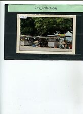 P822 # MALAYSIA USED PICTURE POST CARD * ROADSIDE HAWKERS