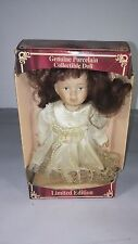 (#263)  GENUINE PORCELAIN COLLECTIBLE DOLL     LIMITED EDITION     GREENBRIER