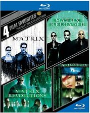 4 Film Favorites: The Matrix Collection (2015, REGION A Blu-ray New)