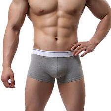Mens Boxer See Through Casual Underwear Shorts Pants