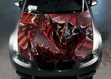 Dragon Slayer Car Hood Wrap Color Vinyl Sticker Decal Fit Any Car